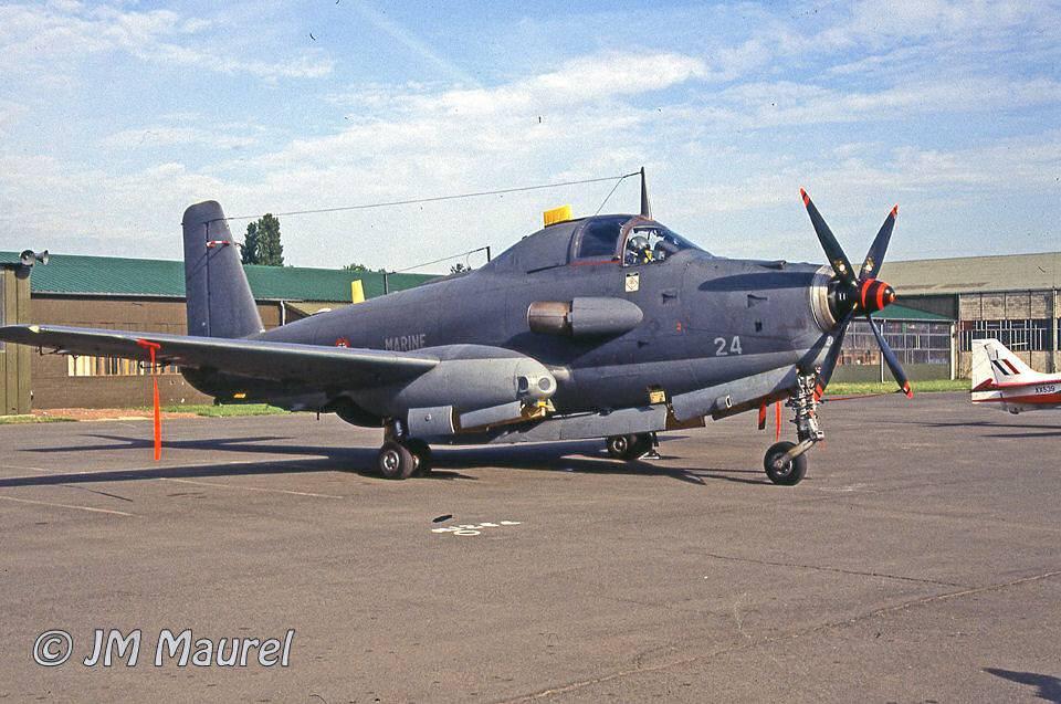 BA 103, Cambrai-Epinoy, 1993, flottille 6F, alizé 24 ...