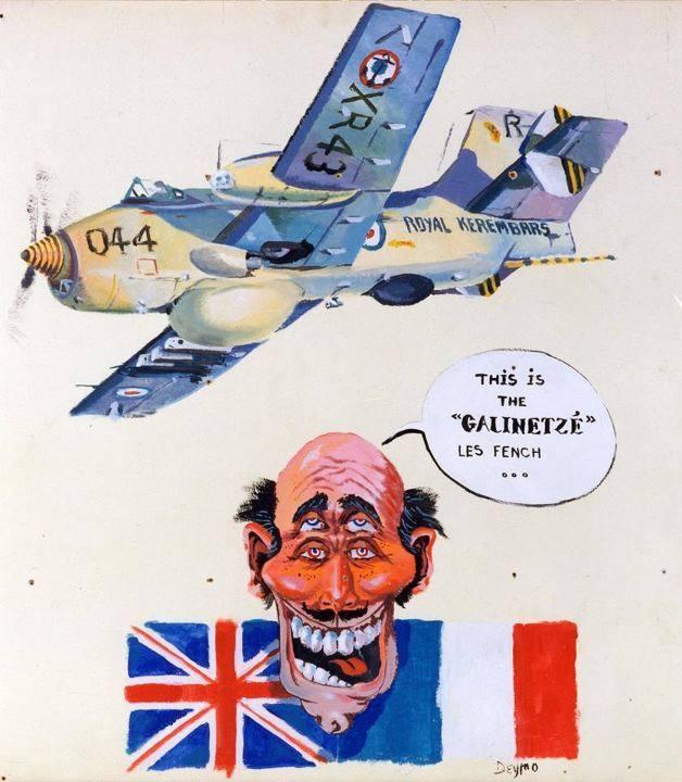 hybride franco-britannique imaginé et dessiné par DEYMONAZ Le Grand !