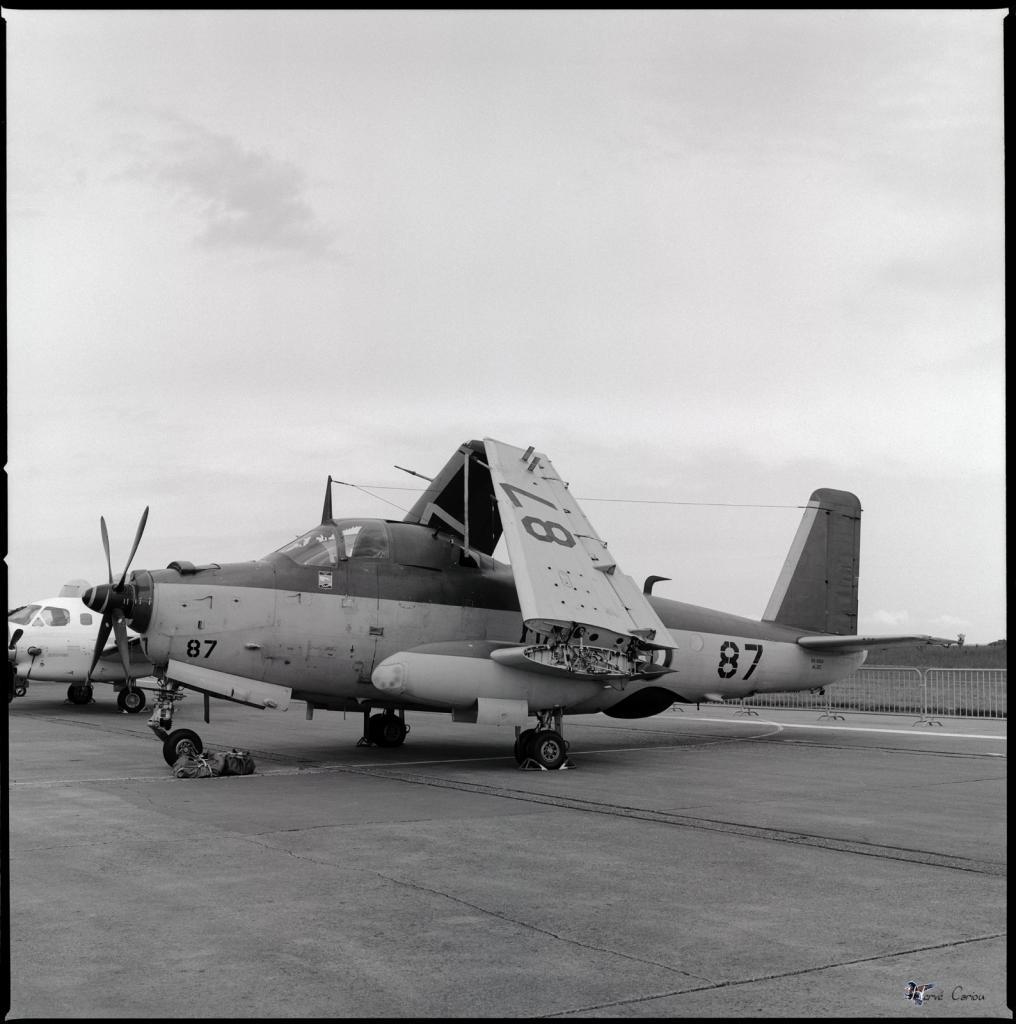 BA 702 Avord, 1984, alizé 87, escadrille 59S ...
