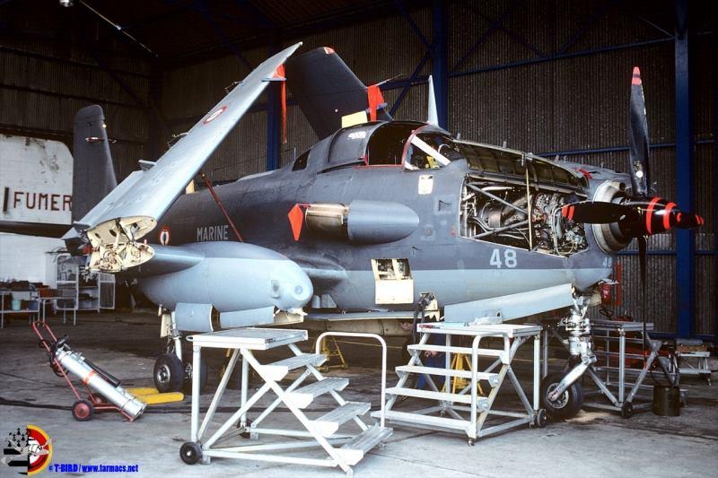 1992, ban Lann-Bihoué, flotille 4F, encore aux couleurs de la 6F ...