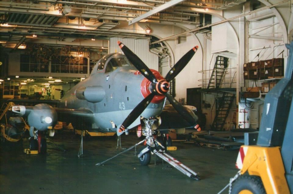 """1994, p.a Foch, flottille 4F, alizé 43 les ailes """"brisées""""  ..."""