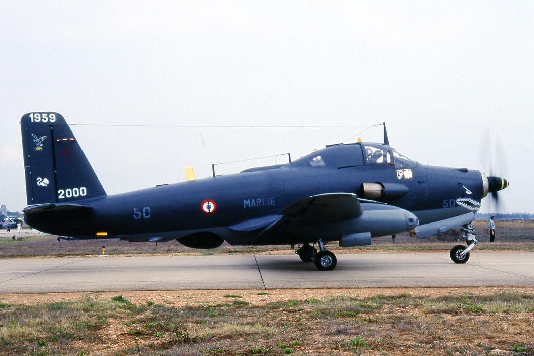15 Septembre 2000, alizé 50, flottille 6F, Nîmes-Garons, dernier vol