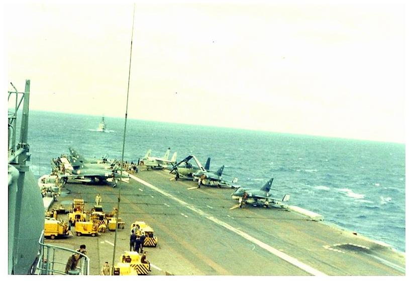 1967, porte-avions Clemenceau ...