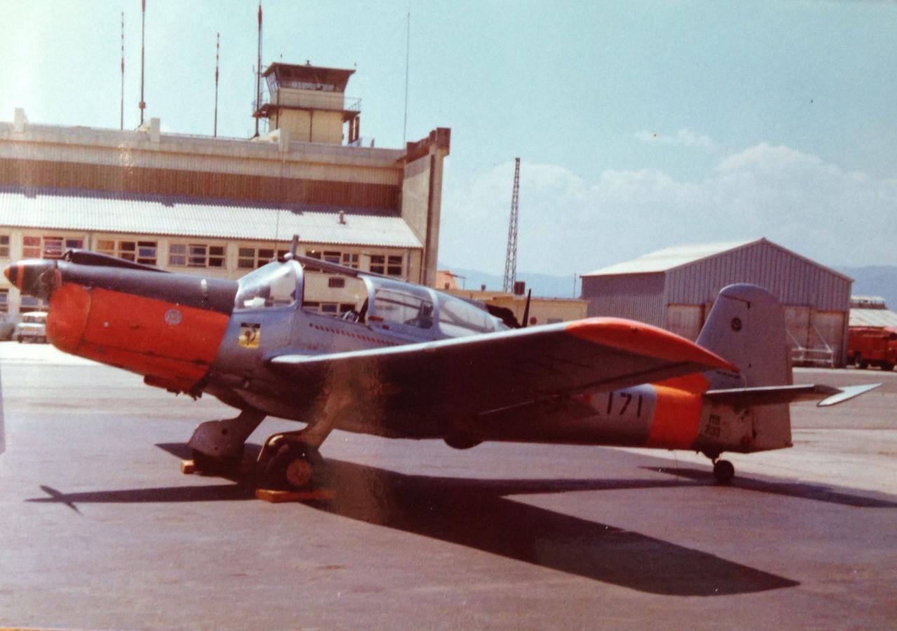 1973, ban fréjus-St-Raphaël, ms733 alcyon n°171, escadrille 10S ...