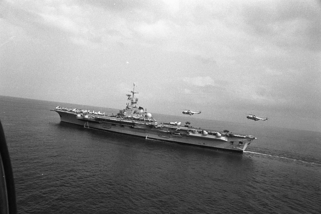 """1982, p.a Foch, mission """"Olifant"""" au Liban, alizé flottille 6F"""