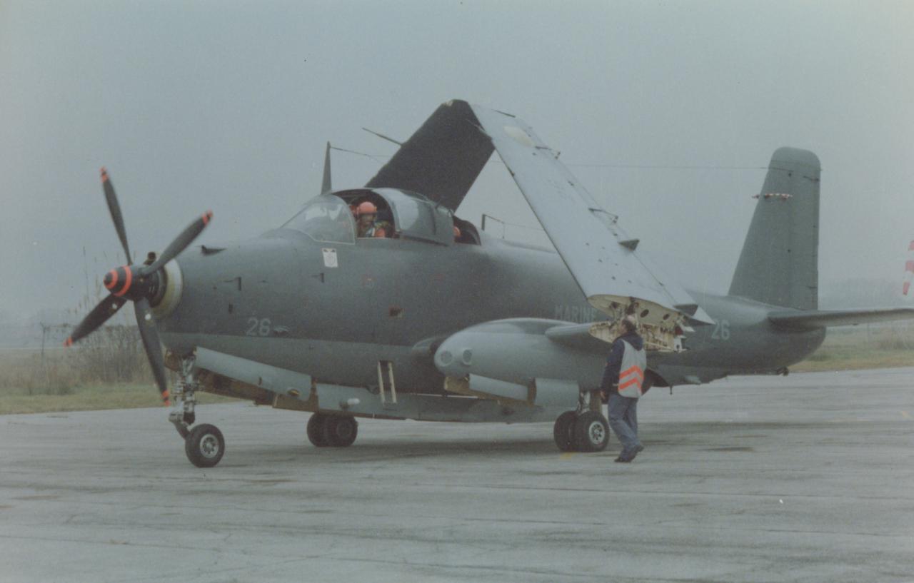 1988, Fréjus, escadrille 10S, mise en route ...