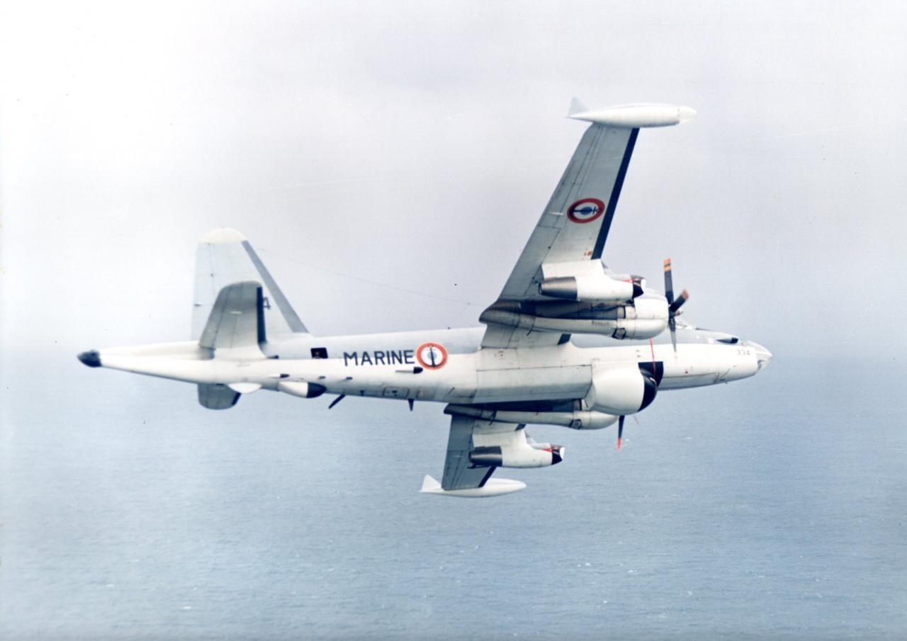 """une """"légende"""" dans l'Aéronavale, un P2V7 neptune, flottille 25F ..."""