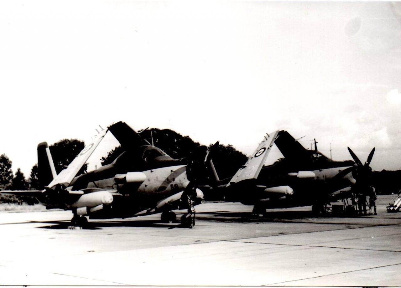 Escadrille 2S, alizé 59et56, ban Lann-Bihoué, 1970
