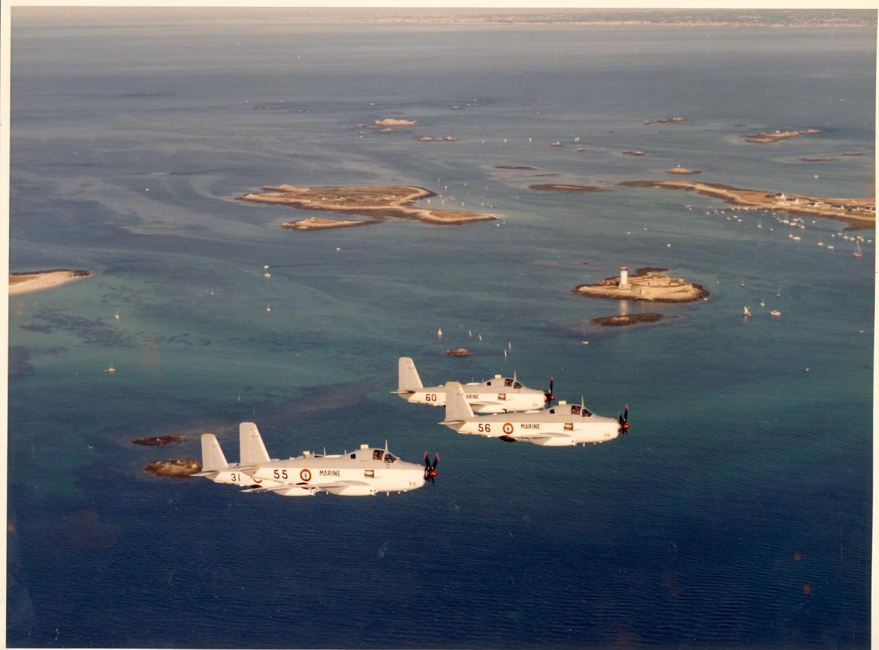au large de Lorient, alizé modernisé en formation, 85/86 ...