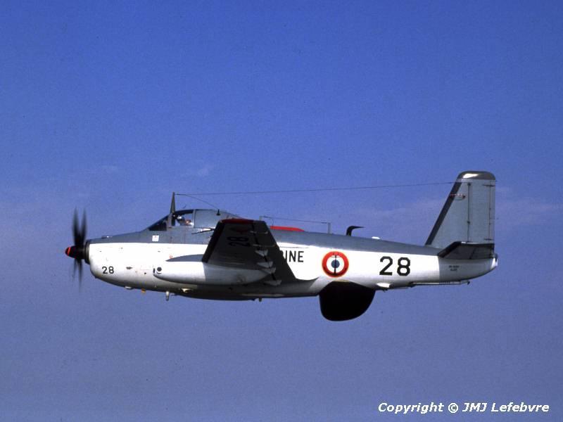 1981, Garons, flottille 6F, arrivée du 1er alizé Modernisé ...
