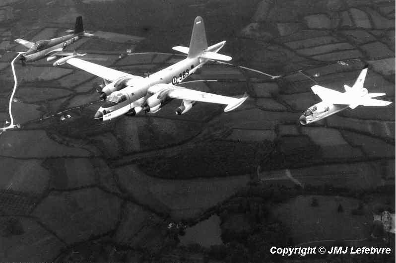 1960/70 en vol, alizé 4F, neptune 25F et crusader 14F ...