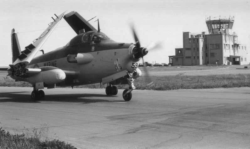 RAF Brawdy (UK), 1980, flottille 4F, alizé 59 ...