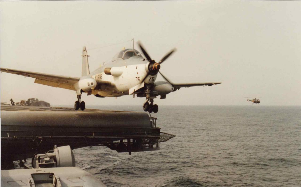 1987, océan indien, p.a Clemenceau, flottille 4F, alizé 76 ...