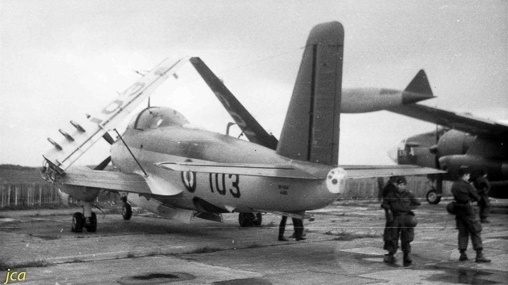 Lann-Bihoué, les années 60, l'alizé 3 en série 100... 1ere modernisation (post 64/65)
