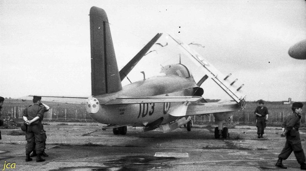 Lann-Bihoué, les années 60, l'alizé 3 en série 100... 1ere modernisation (post64/65)