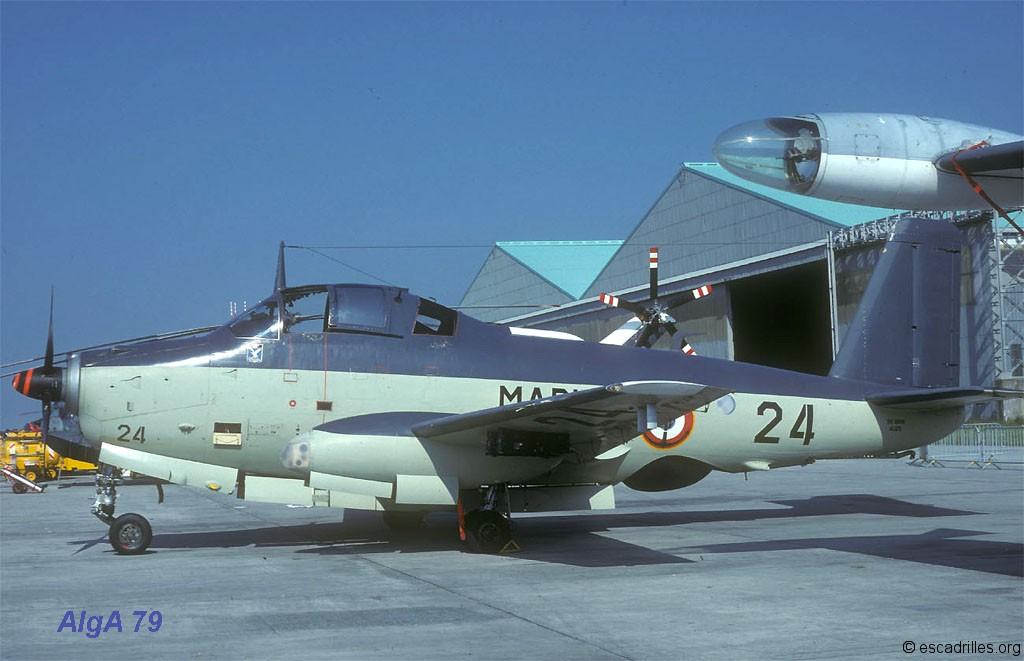 BAN Landivisiau, JPO 1979, flottille 4F, alizé 24 ...