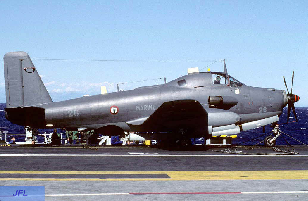 1994, p.a Foch, flottille 6F, alizé 26 ...