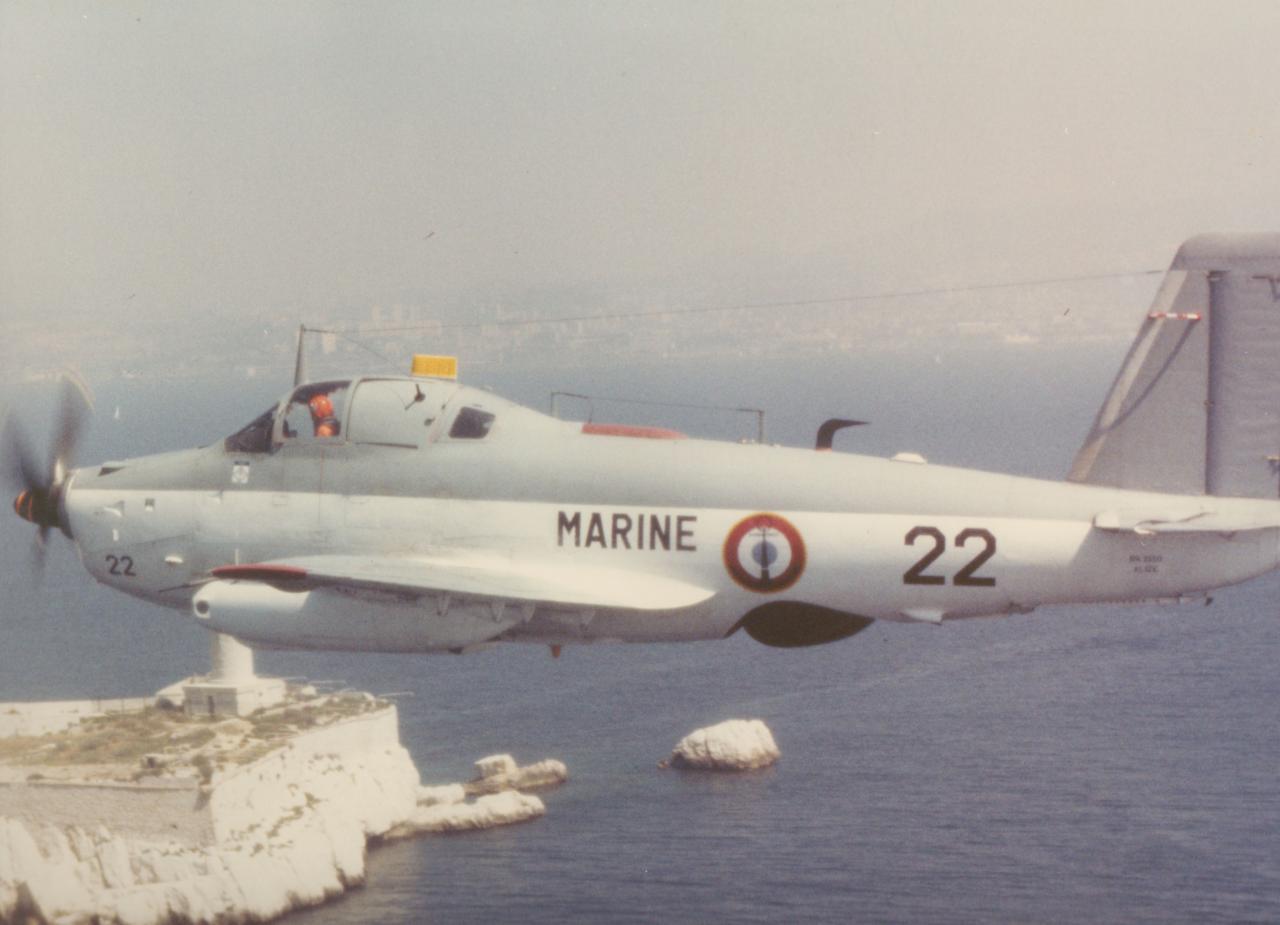 alizé 22, vol cev essai lance leurres, 1987 (labo photo ban fréjus)