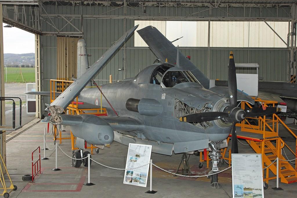 le 47 au musée de l'aviation Clément Ader de Lyon-Corbas en 2014 ...