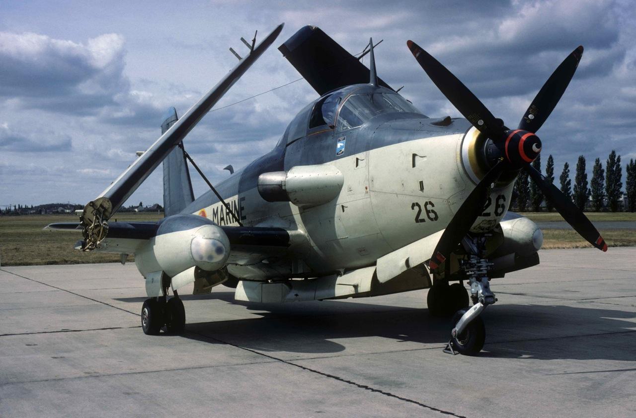 1980, Brétigny, escadrille 59S ...