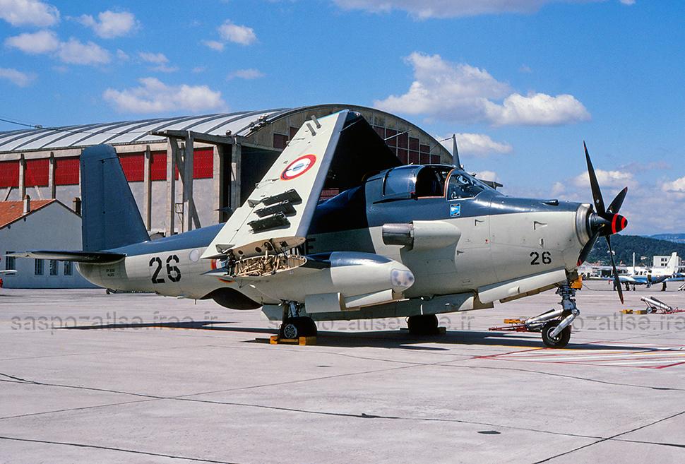 1979, Hyères, escadrille 59S ...