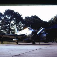 1974, Gannet 761 et 762, après mise en route, dépliage ...