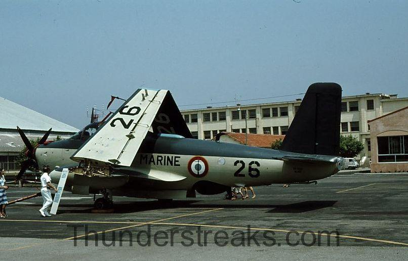 BAN Fréjus-Saint-Raphaël, JPO 1979, escadrille 59S, alizé 26 ...