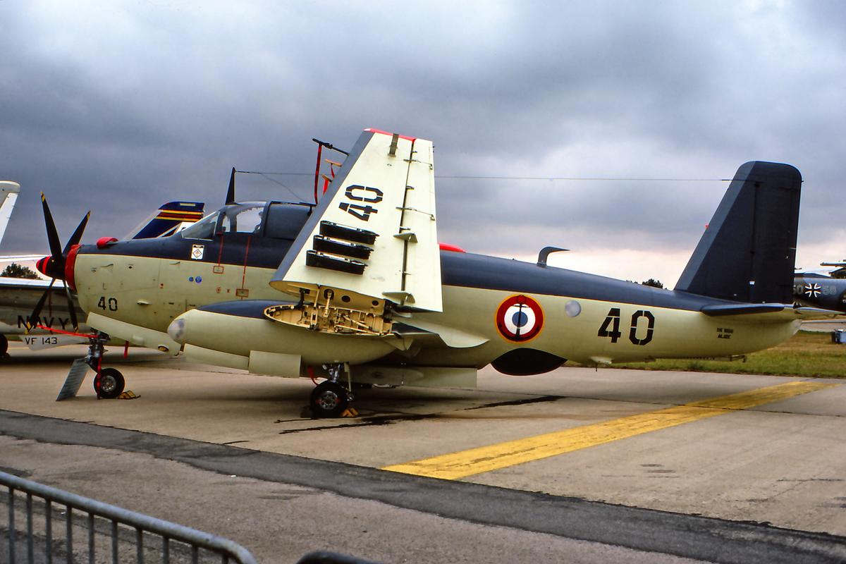 BAN Nîmes-Garons, JPO 1976, flottille 6F, alizé 40 ...