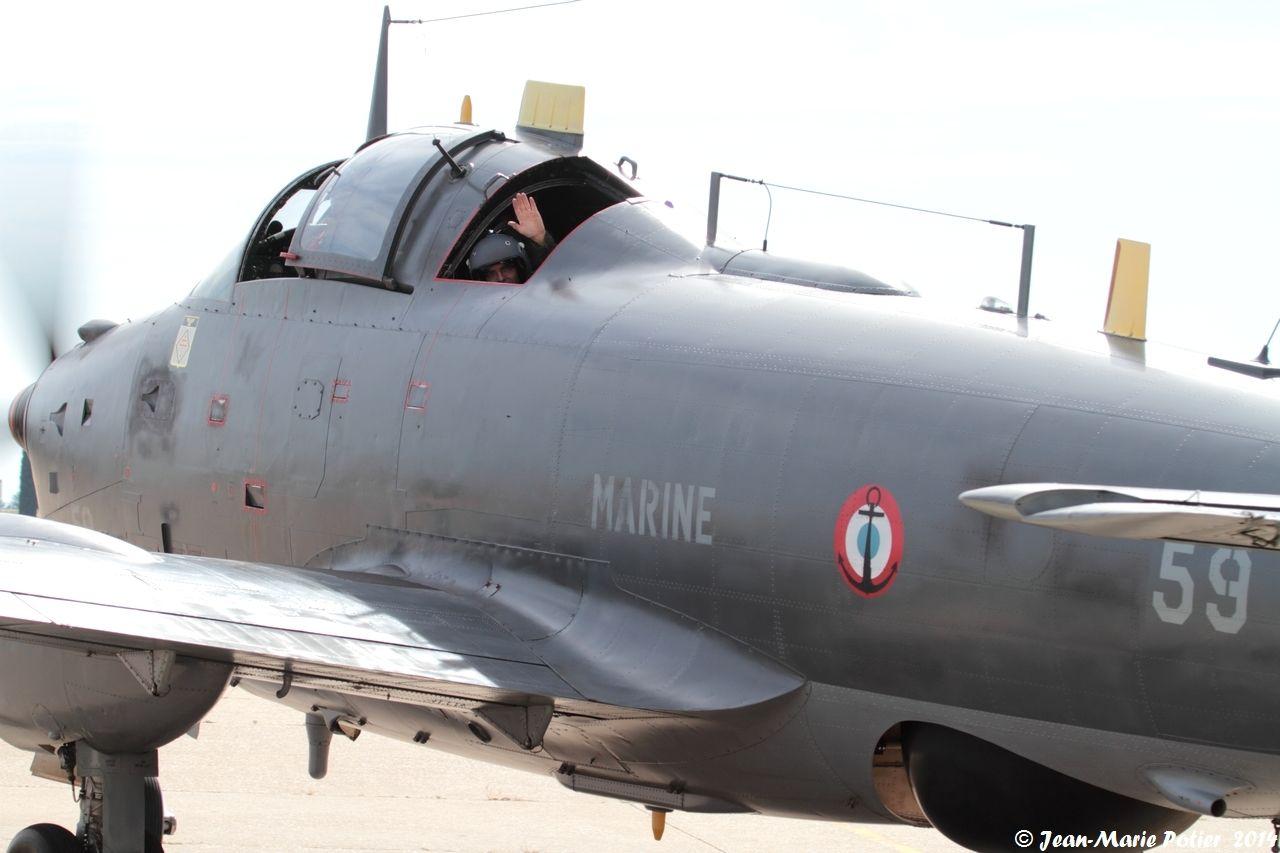 Juin 2014, départ pour la JPO base Aéronavale de Hyères ...
