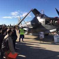 Novembre 2016, participation au forum des métiers de l'Aéronautique à Garons...