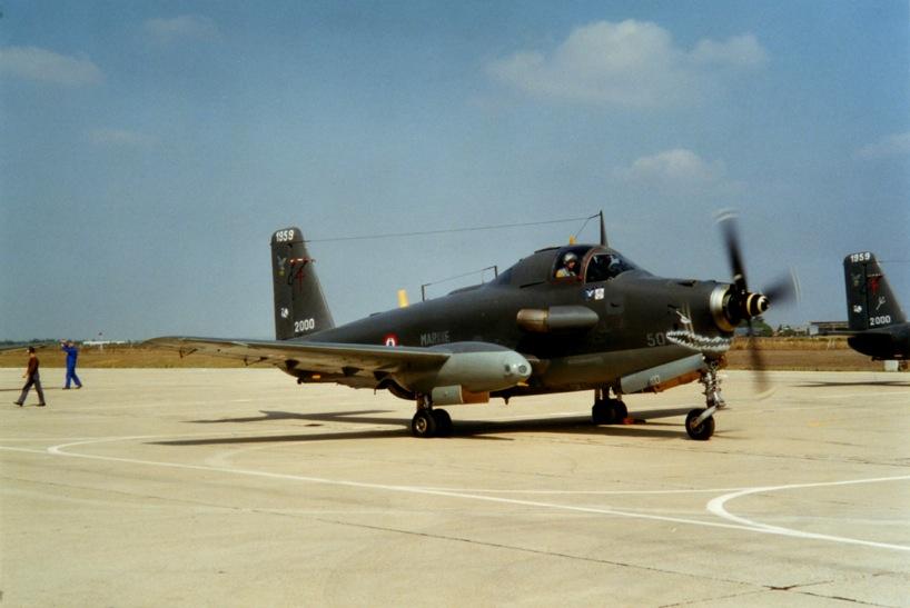 Nîmes-Garons Septembre 2000, alizé 50, dernier vol ...
