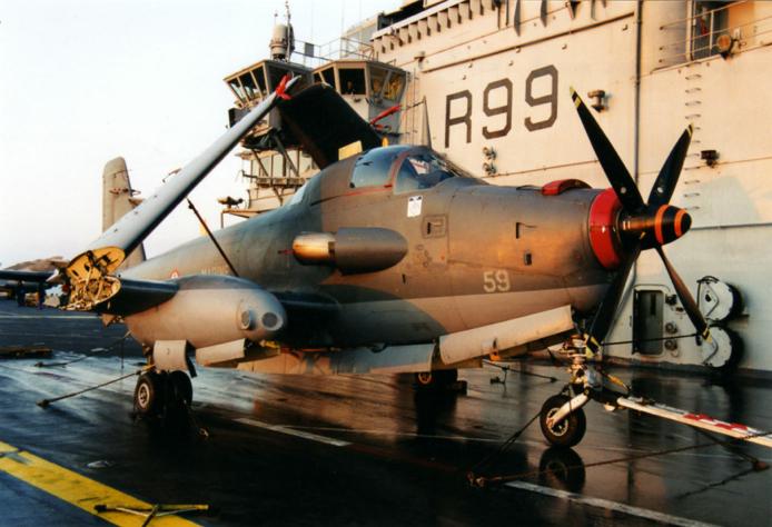 1999, alizé 59, flottille 6F, p.a Foch, arrivée à Trieste ...