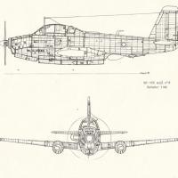 Le 8 en vol 1980