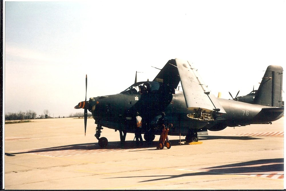 1995, Nîmes-Garons, flottille 6F, alizé 76 avant mise en route
