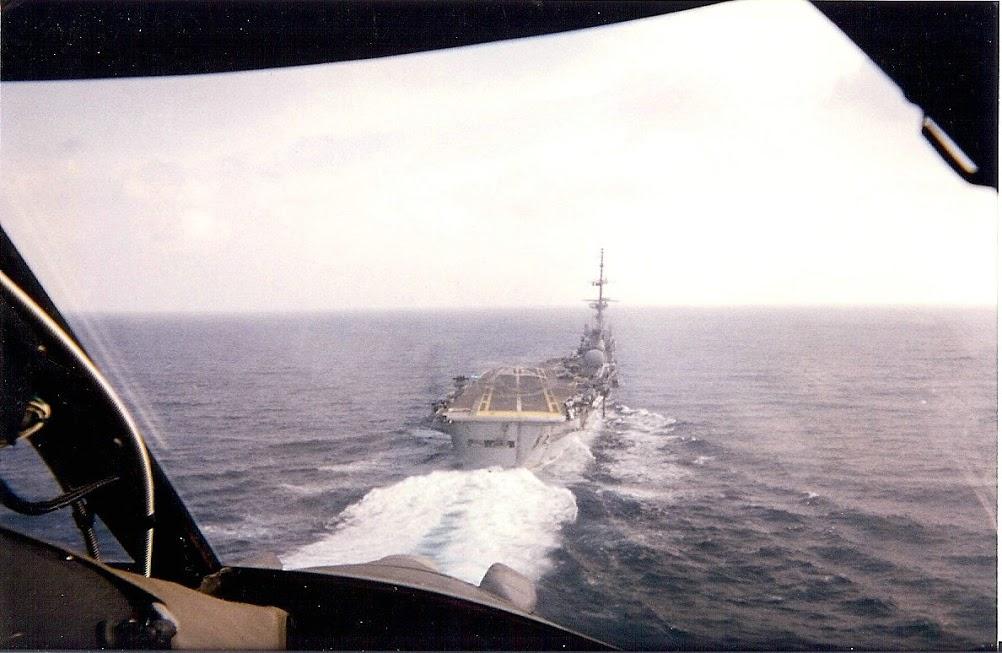 1999, p.a Foch, alizé 6F, retour à bord ...