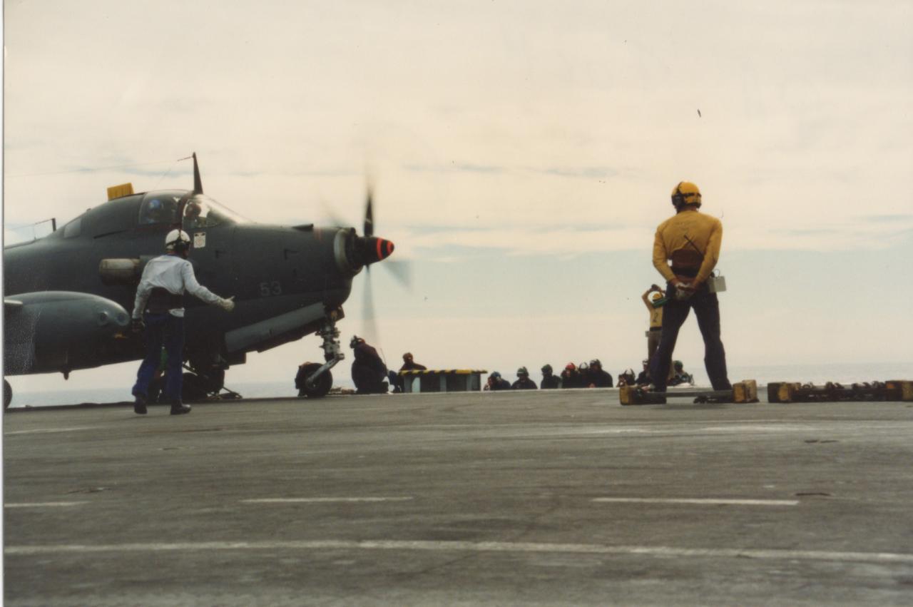 1992, pa Foch, 6F, alizé 53 et l'homme en blanc …