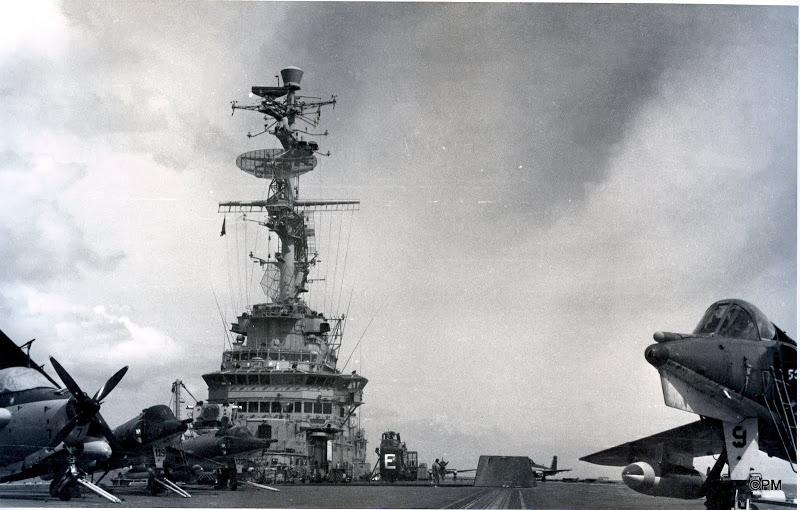 Pacifique 1968, p.a Clem, flottille 9F, alizé 7 ...