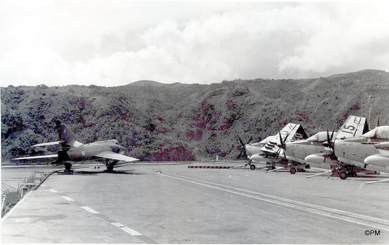 Pacifique 1968, p.a Clem, flottille 9F, alizé 7,15,20