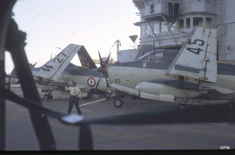 Pacifique 1968, p.a Clem, flottille 9F, alizé 45,27,36