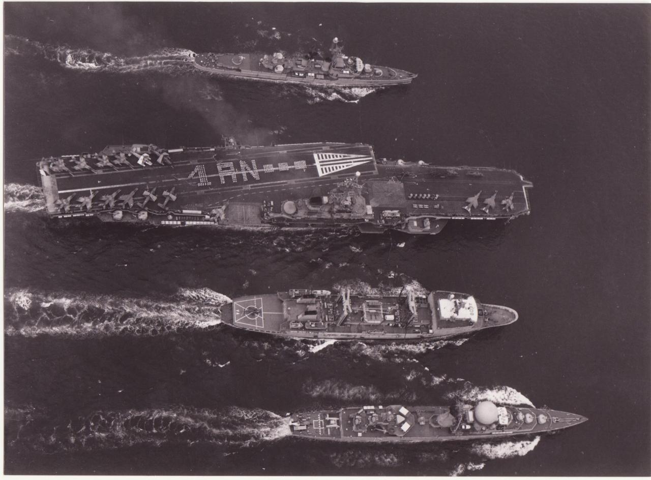 "Opération ""Prométhée"" 87/88, en mer d'Oman lors du conflit Iran/Irak ..."