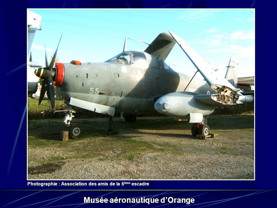 le 55 au musée des amis de la 5e Escadre à Orange ...