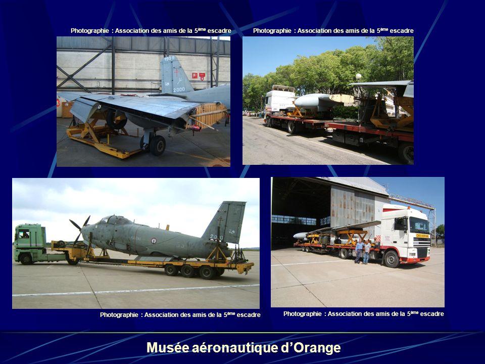 le 55 départ pour le musée des amis de la 5e Escadre à Orange
