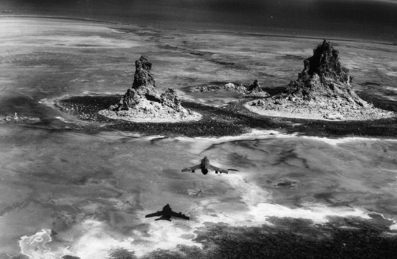 "1987, mission ""prométhée"", super étendard, flottille 17F ... (Djibouti .)"