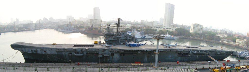 2008, Bombay, Vikrant Museum Ship et alizé 310 Sqn ...